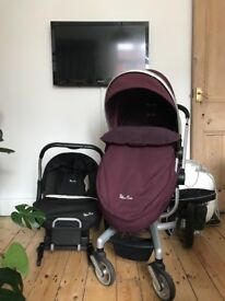 Silver Cross Surf Travel System in good condition