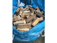 1ton Bags Of Wood/logs all cut delivered £30