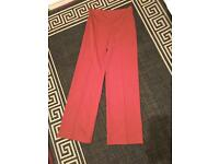 Size 12 rust coloured trousers