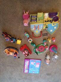 Peppa Pig toys bundle