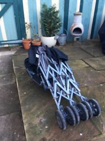 Double Stroller For Sale - £80