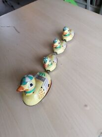 Antique Toy Ducks - Wind Up - Key Not Included