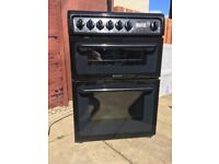 Hotpoint Black Freestanding Cooker (2 Year old)