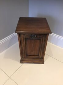 Antique Edwardian coal box/storage box