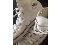 White converse size 2 1/2