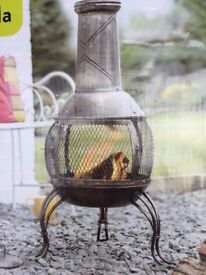 La Hacienda Fire Chiminea NEW BOXED