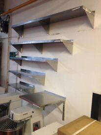 Stainless Steel Wall Shelf 150cm / Take Away / Restaurant / Kitchen