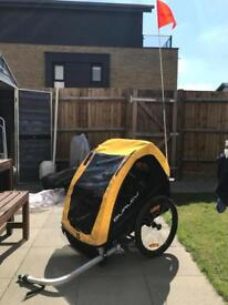 Burley Bee Child bicycle trailer very good condition
