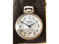 Vintage Westclox Scotty Mechanical Pocket Watch from USA Circa 1959