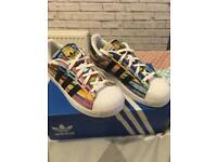 Adidas trainers size 1 (Superstar C)