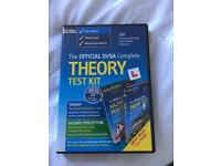 Driving lessons - theory test kit