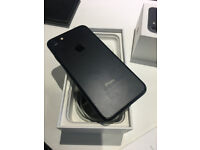 iPhone 7 matt black 32gb Exellent Unmarked Condition Unlocked