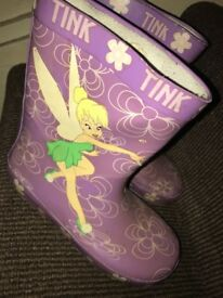 Tinker bell Wellies