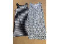 H&M Summer Maternity Dresses size 10-12