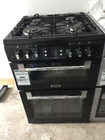 BRAND NEW Lesuire black 60cm gas cooker with oven & grill