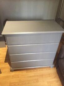 Bedroom furniture - wardrobe desk chest of drawers