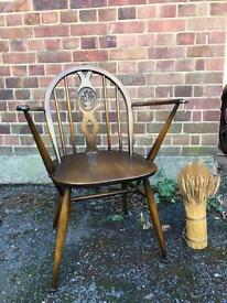 GENUINE VINTAGE ERCOL ARMCHAIR/CHAIR FREE DELIVERY 🇬🇧