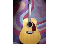 12 string acoustic Fender guitar - great condition