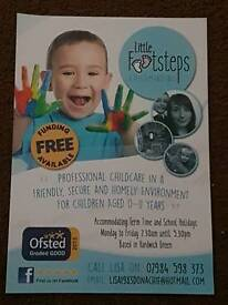 """Childminder with the Hardwick Stockton area with a """"good"""" grade"""
