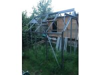 Free Greenhouse frame. Collector to dismantle and take away