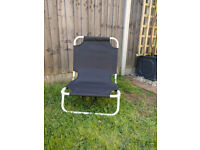 4 Low Level folding Camping and Festival Chairs
