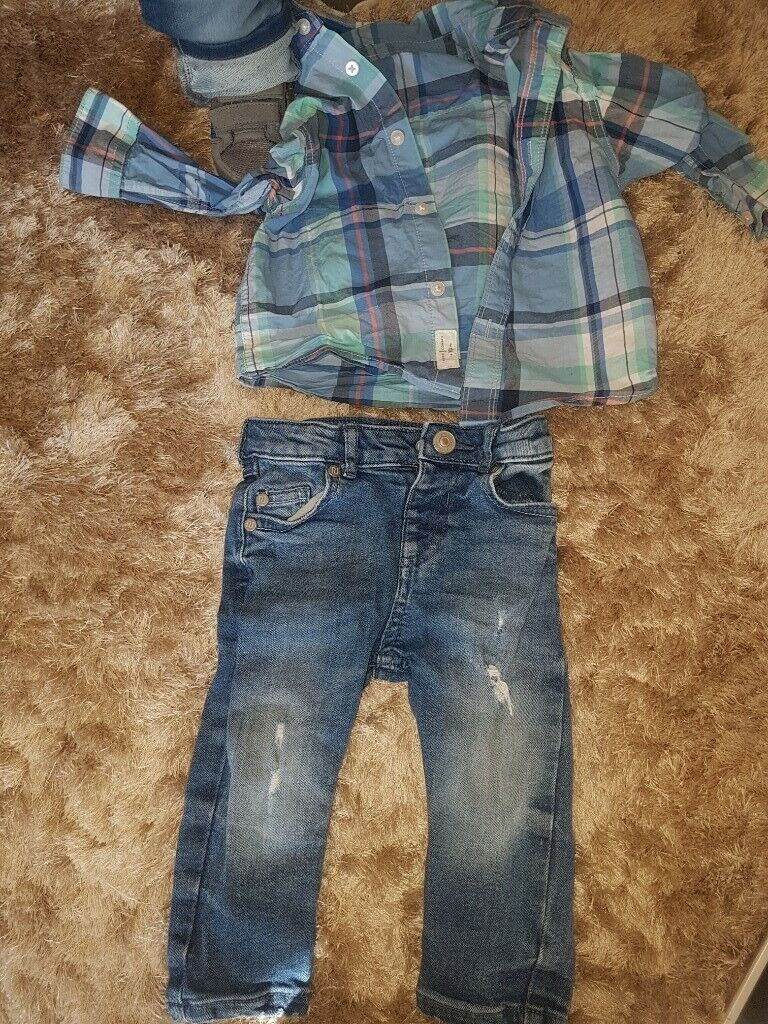 c8217f5d031 Jasper conran and a pair of river island jeans boys aged 12-18 months