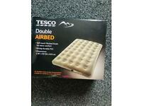 NEW double airbed