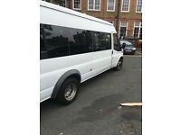 Minibus hire with driver or self drive