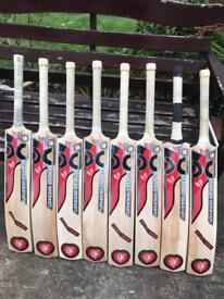 8 Cricket bats £20 each or £150 for all