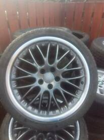 Set of Audi alloys 255/35/19