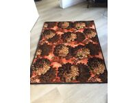 Retro rug made from an original piece of retro carpet