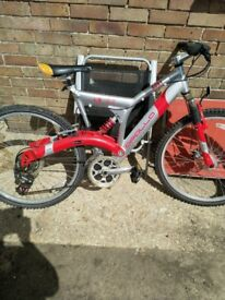 Good solid bike. Needs some TLC. Bought new from Halfords. Very little use.l