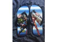 Marvel Flip Flops