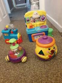 Bundle of baby/toddler toys