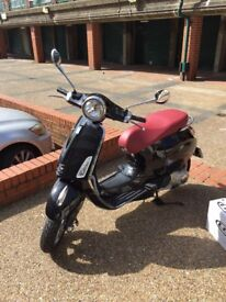 Black - VESPA PRIMAERA 125 - Great condition, well looked after. Recently MOTd.