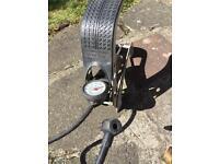 Foot pump for bike