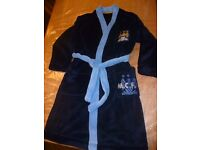 Manchester City Dressing gown aged 7-8 years