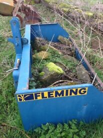 Fleming Transport Box Tractor Mounted