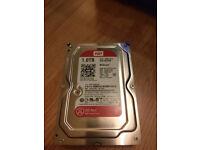WD Red 1TB NAS Desktop Hard Disk Drive - Intellipower SATA 6 Gb/s 64MB Cache 3.5 Inch