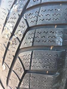 245/45/17 Pirelli hiver 5/32