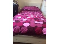 Single Bed For Sale With Menai Orthopedic 650 Mattress - £90 ono