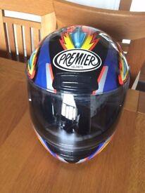 Motorbike Helmet- Premier- Small