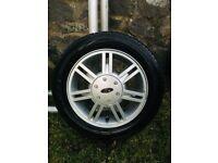 1 Ford Fiesta 2002 Alloy (Aluminium) with tyre on