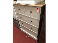 2 drawer + 3 drawer chest