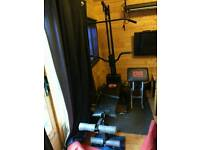 Multi gym with weights
