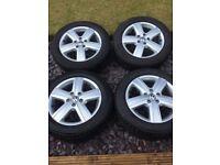 Vw t5.1 alloys/tyres