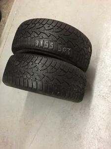 2 General Altimax winter tires:205/55R16