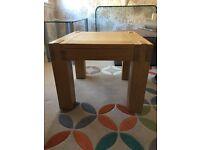 Solid oak side table * matching Sideboard available for sale*