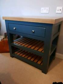 Solid oak unit NEW