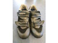 Shimano SPD cycling shoes